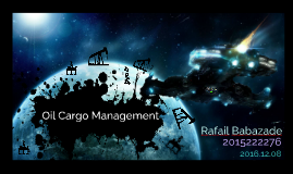 Oil Cargo Management