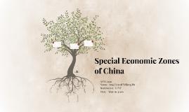 Special Economic Zones of China