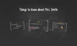 Things to know about Mrs. Smith