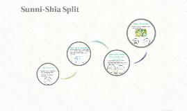 Sunni-Shia Split