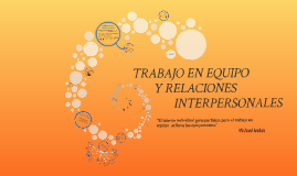Copy of TRABAJO EN EQUIPO Y RELACIONES INTERPERSONALES