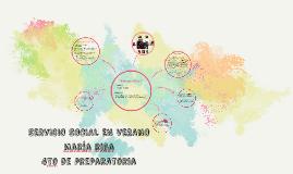 SERVICIO SOCIAL EN VERANO