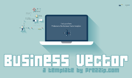 Business vector prezi template