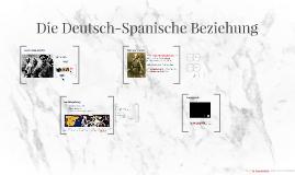 Die Deutsch-Spanische Beziehung