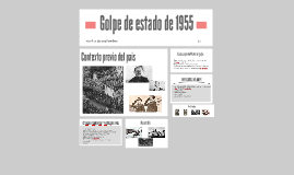 Golpe de estado de 1955
