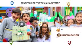 MINISTERIO DE EDUCACIÓN  COLOMBIA 1