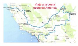 Viaje a la costa oeste de América