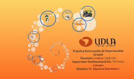 Práctica Intermedia de Intervención Grupal
