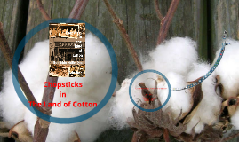 Chopsticks in the Land of Cotton