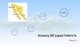 Amaury Ali Lòpez Valencia