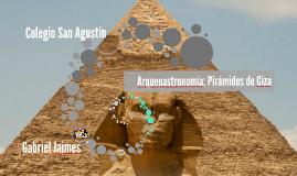 Arqueoastronomía: Pirámides de Giza