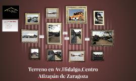 Terremp en Av.Hidalgo,Centro Atizapán de Zaragoza