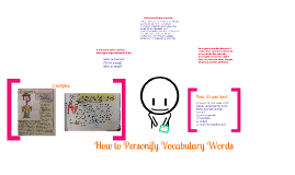 Personify Vocabulary