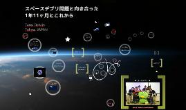 Team Debris活動報告 for 第8回JASCサイエンスコミュニケーションツール研究会