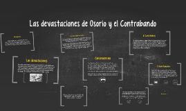 Copy of Las devastaciones de Osorio y el Contrabando