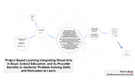 Project Based Learning integrating Visual Arts in Basic Scho