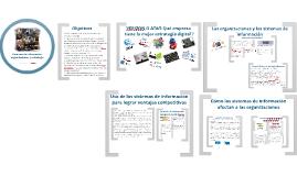 Sistemas de información. Tema 3