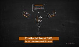 Presidential race of 1960