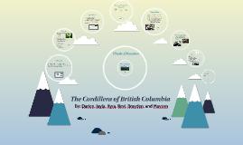 The Cordillera of British Columbia