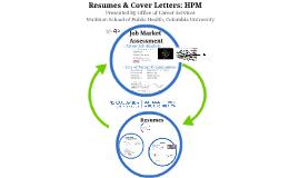 Mailman School Resume Workshop HPM