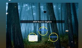 MYP Year 5 - English