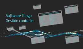 Copy of Software Tango Gestion contable