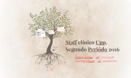 Staff clínico Cpp