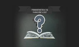 Frankenstein vs Paradise Lost Seminar