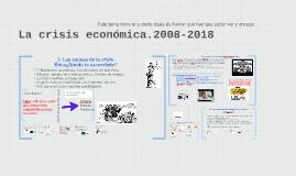 La crisis económica.Análisis ético.