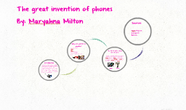 The great invention of the phone