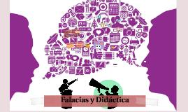 Falacias y Didáctica: Elementos para el desarrollo del pensamiento crítico