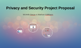 Privacy and Security Project Proposal