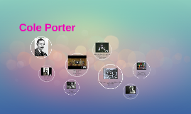 Composer/lyricists: Cole Porter