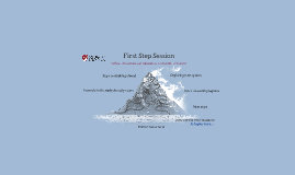 First Step Session: 2019-20 Cohort