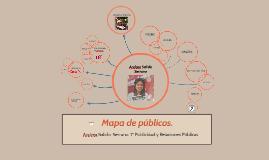 Mapa de públicos.