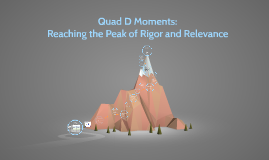 Quad D Moments: The Peak of Knowledge