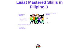 Copy of Least Mastered Skills in Filipino 3