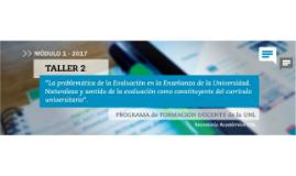 Presentación Taller de evaluación_2017_UNL