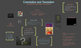 Copy of Connotation and Denotation