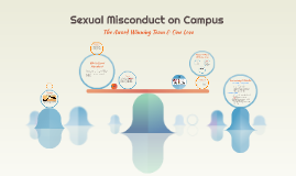 Sexual Misconduct on Campus
