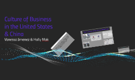 Culture of Business in the United States