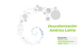 Colonización y Descolonización