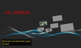 LOS  ANIMAES