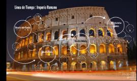 Linea de Tiempo : Imperio Romano