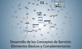 MKT DE SERVICIOS Elementos Básicos y Complementarios
