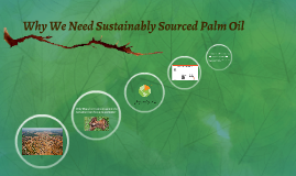 Why We Need Sustainably Sourced Palm Oil