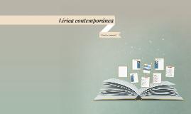 Lírica contemporánea
