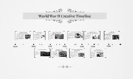 World War II Creative Timeline