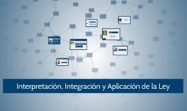Copy of Interpretación, Integración y Aplicación de la Ley