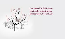 Construccion del Estado Nacional argentino